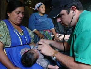 La medicina cubana en Guatemala